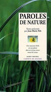 PAROLES DE NATURE