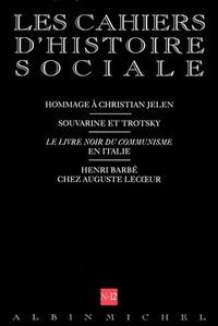 N  12 - COMMUNISME - LES CAHIERS D'HISTOIRE SOCIALE