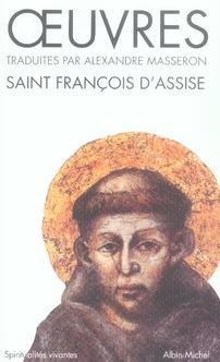 OEUVRES DE SAINT-FRANCOIS D'ASSISE
