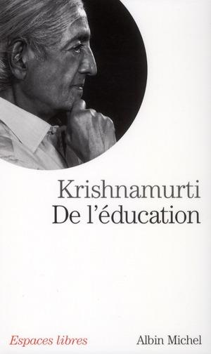 DE L'EDUCATION