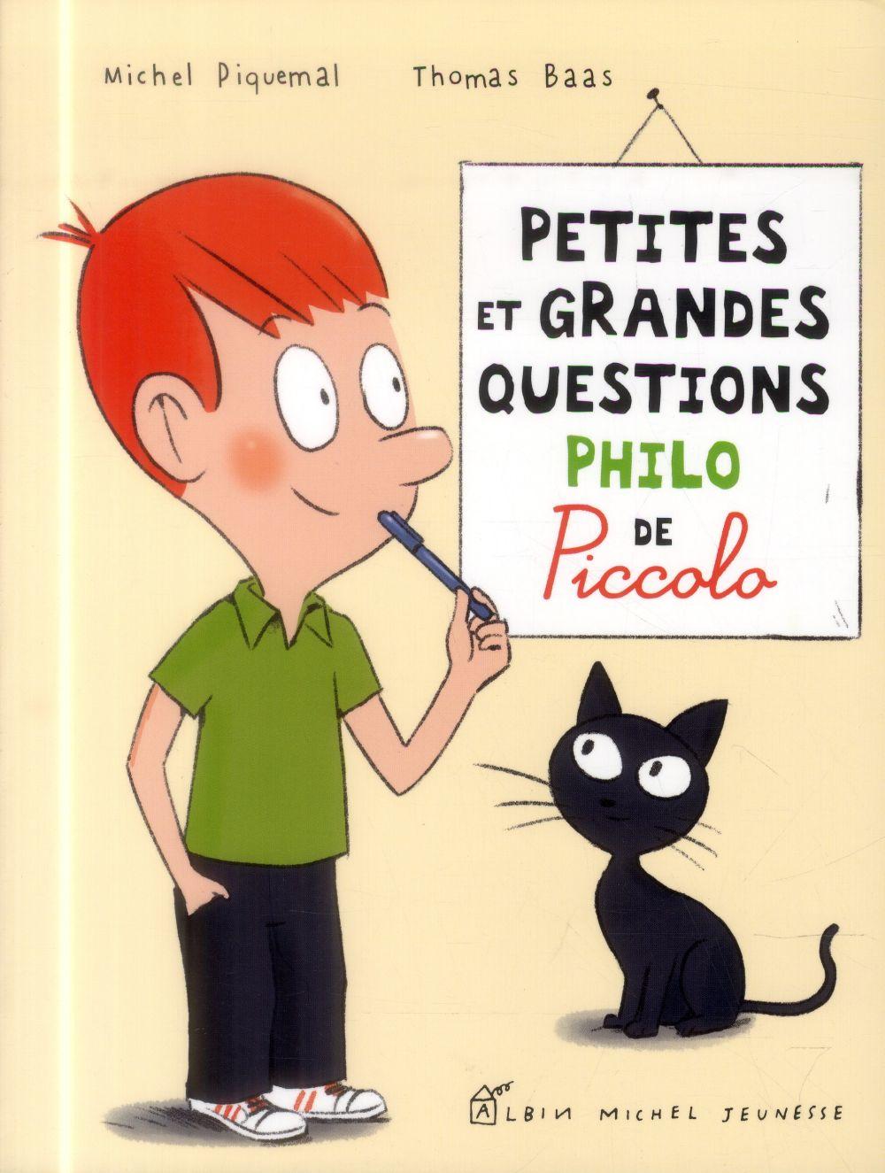 PETITES ET GRANDES QUESTIONS PHILO DE PICCOLOPHILO