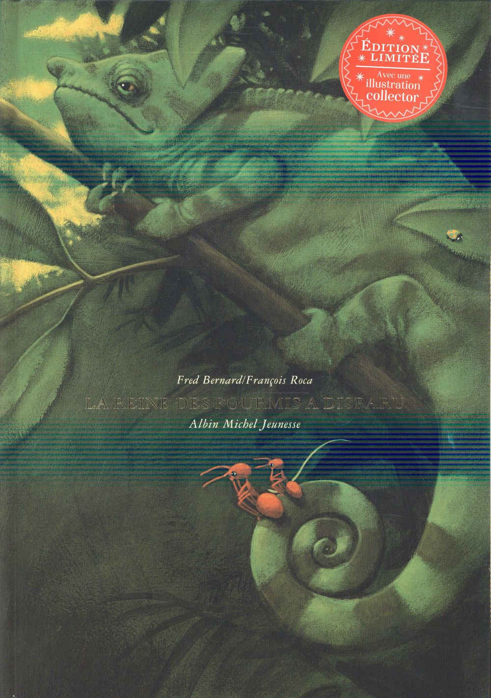 LA REINE DES FOURMIS A DISPARU