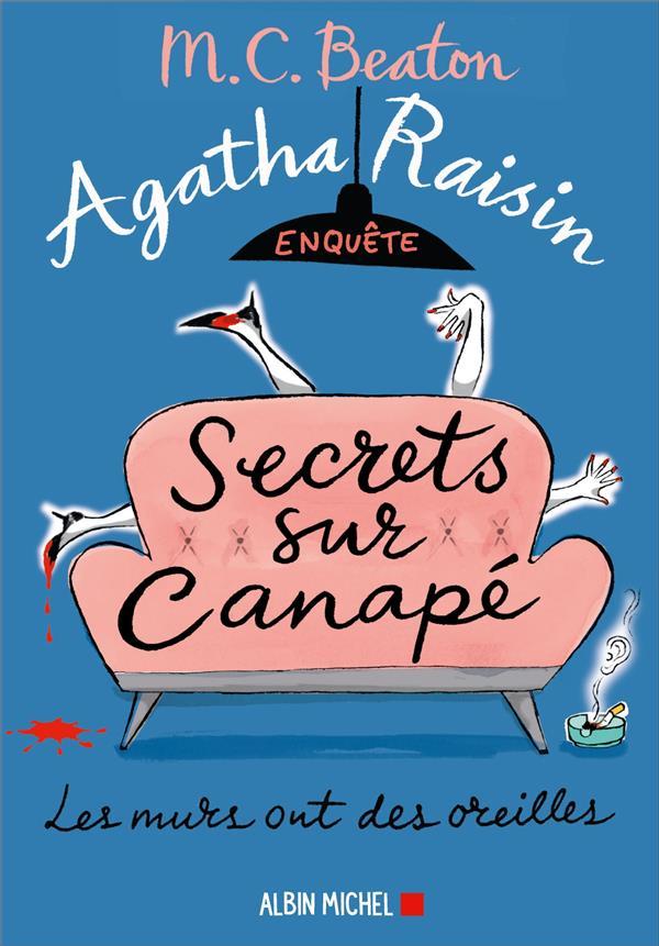 Agatha raisin enquete 26 - secrets sur canape