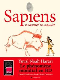 SAPIENS - TOME 1 (BD) - LA NAISSANCE DE L'HUMANITE