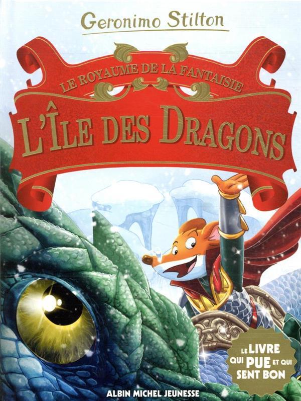 L'ile des dragons n  12 - royaume de la fantaisie - tome 12