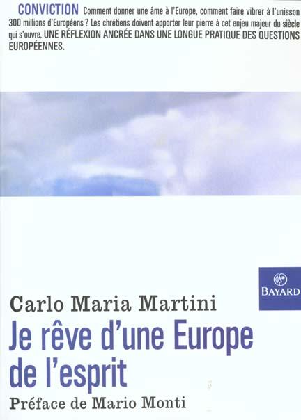 JE REVE D'UNE EUROPE DE L'ESPRIT