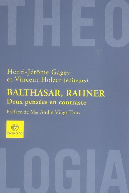 BALTHASAR-RAHNER COLLOQUE