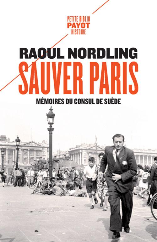SAUVER PARIS - MEMOIRES DU CONSUL DE SUEDE