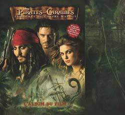 PIRATES DES CARAIBES II: LE SECRET DU COFFRE MAUDIT, ALBUM DU FILM