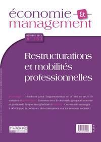 ECONOMIE ET MANAGEMENT 153 : RESTRUCTURATIONS ET MOBILITES PROFESSIONNELLES