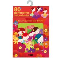 GOMMETTES PRINCESSES FLEURS