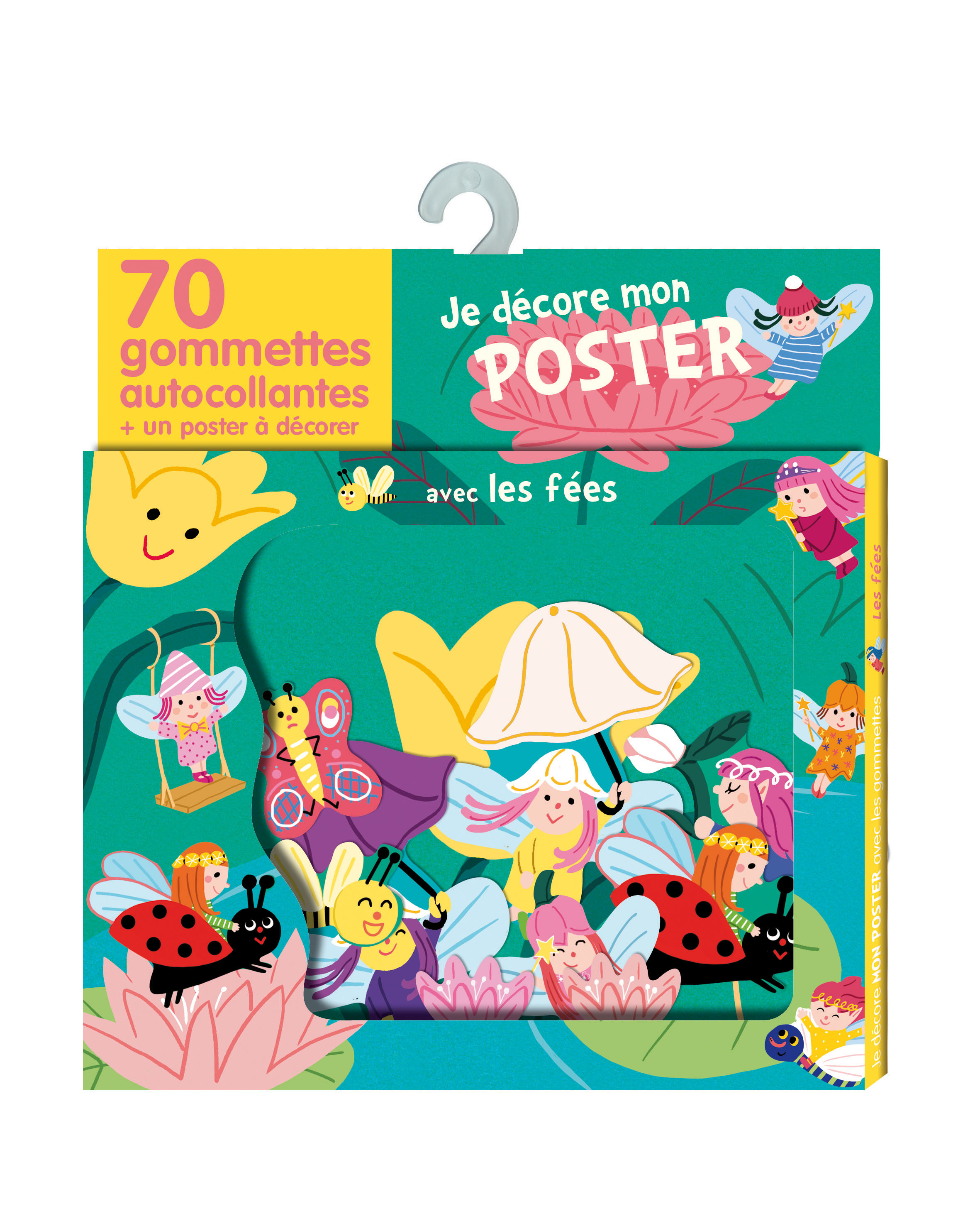 GOMMETTES POSTER LES FEES