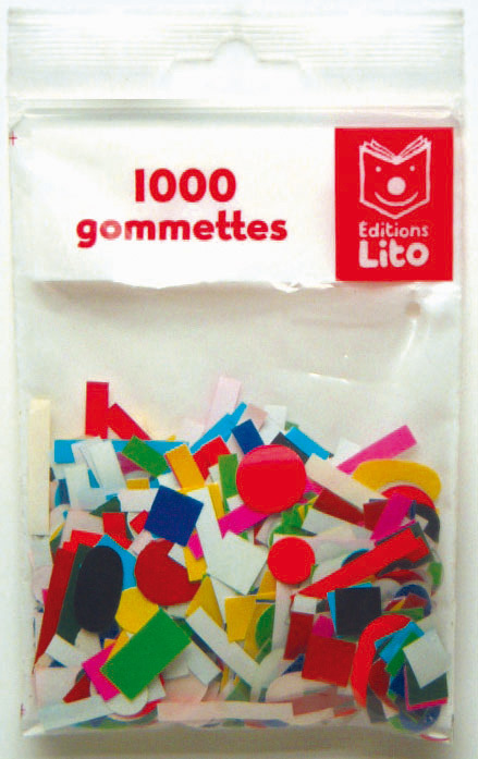 1000 GOMMETTES ASSORTIES