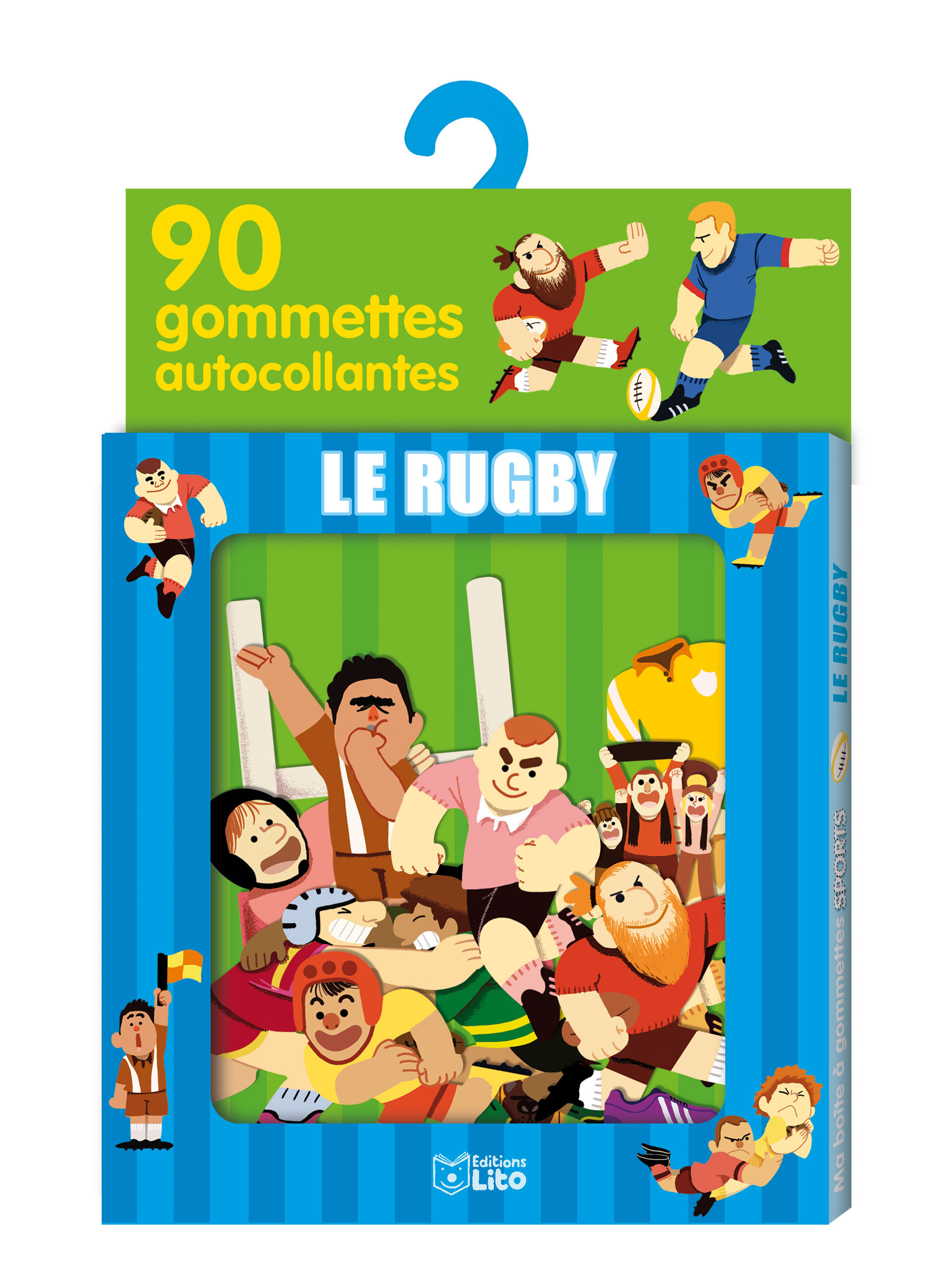 GOMMETTES LE RUGBY