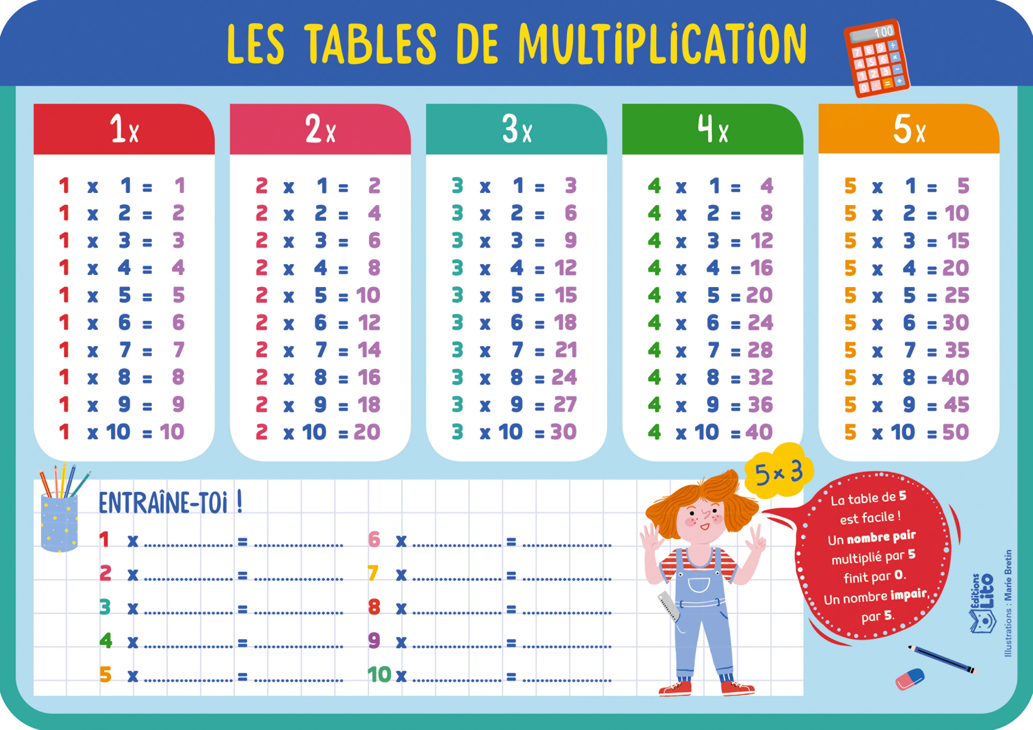 MES ARDOISES MULTIPLICATION
