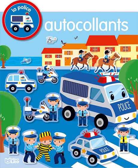 AUTOCOLLANTS VEHICULES POLICE