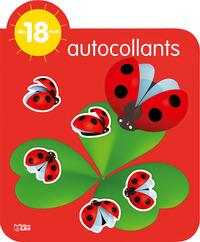 AUTOCOLLANTS COCCINELLE - 18M