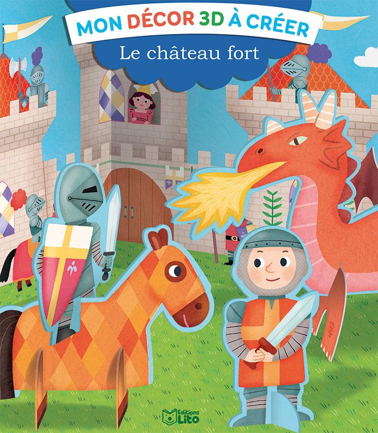MON DECOR 3 D LE CHATEAU FORT