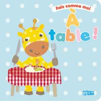 LIVRE FAIS COMME MOI A TABLE