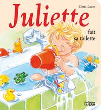 MINI-JULIETTE FAIT SA TOILETTE