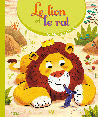 LIVRE FABLE LE LION ET LE RAT
