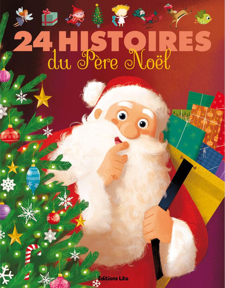 LIVRE 24 HISTOIRES PERE NOEL