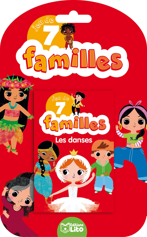 JEUX 7 FAMILLES LES DANSES