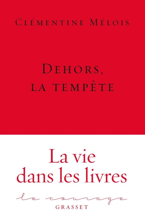 Dehors, la tempete - collection le courage