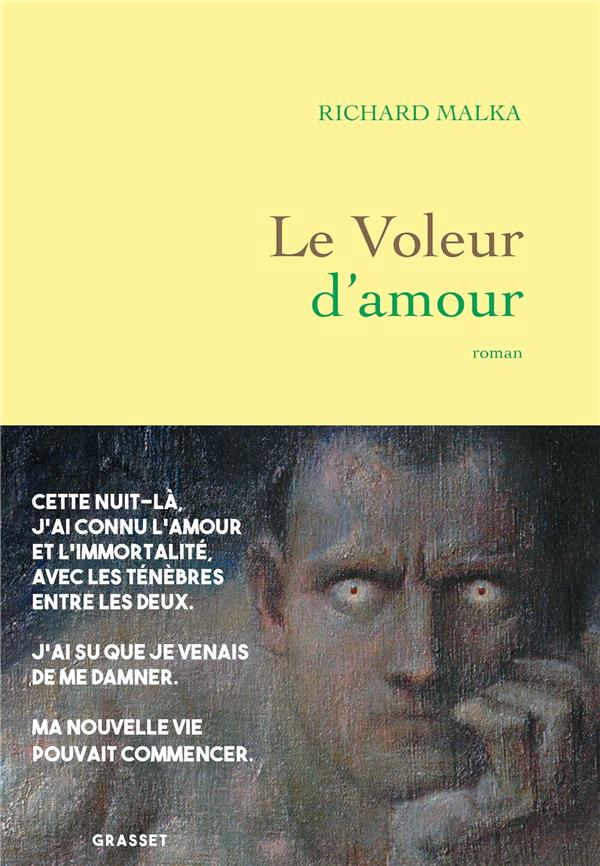LE VOLEUR D'AMOUR - ROMAN