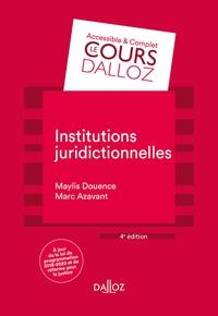 INSTITUTIONS JURIDICTIONNELLES - 4E ED.