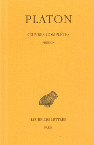 OEUVRES COMPLETES. TOME IV, 1RE PARTIE: PHEDON