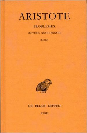 PROBLEMES.TOME III, SECTIONS XXVIII-XXXVIII, INDEX
