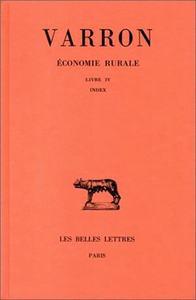 ECONOMIE RURALE. TOME III : LIVRE III - INDEX