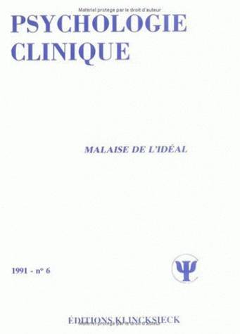 MALAISE DE L'IDEAL / PC