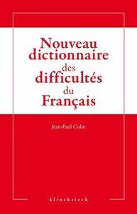 NOUVEAU DICTIONNAIRE DES DIFFICULTES DU FRANCAIS