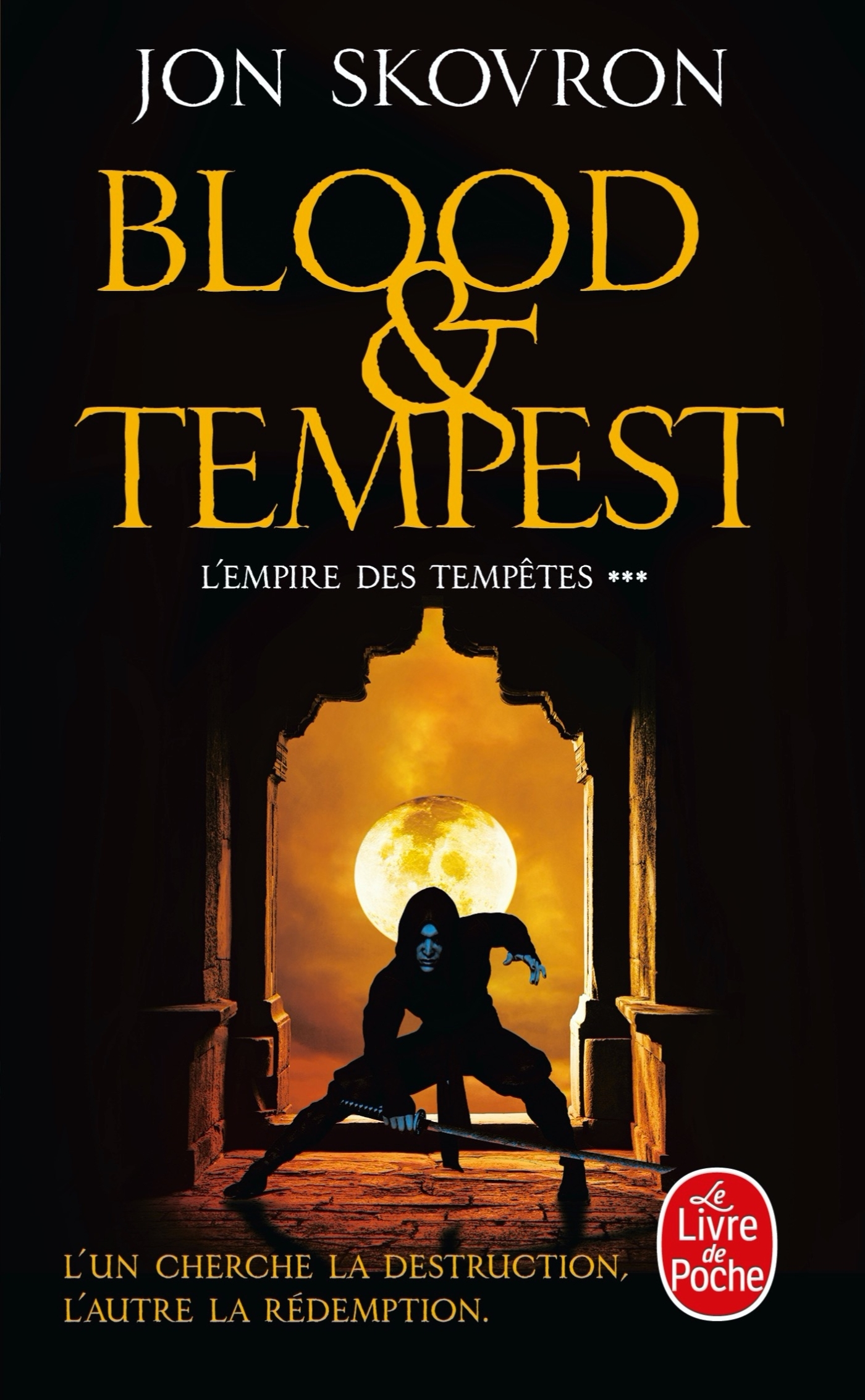 BLOOD AND TEMPEST (L'EMPIRE DES TEMPETES, TOME 3)
