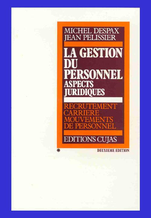 GESTION DU PERSONNEL