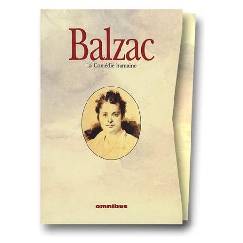 COFFRET BALZAC 4 VOL COMEDIE HUMAINE