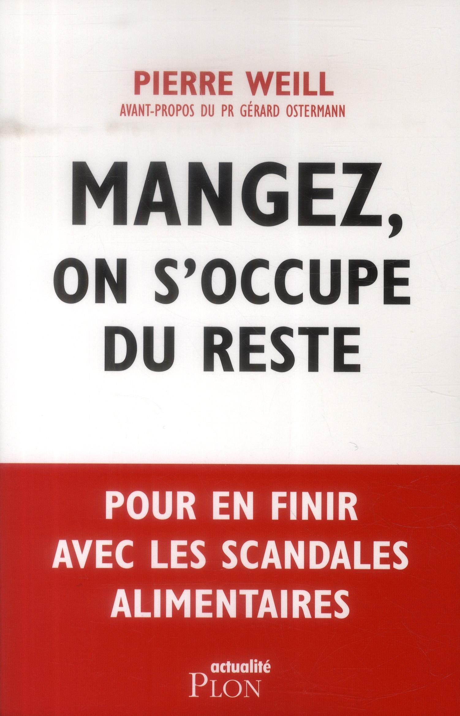 MANGEZ, ON S'OCCUPE DU RESTE