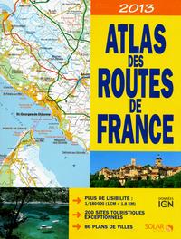 ATLAS DES ROUTES DE FRANCE 2013