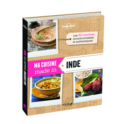 MA CUISINE MADE IN INDE - LONELY PLANET SOLAR