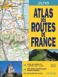 ATLAS DES ROUTES DE FRANCE 2015