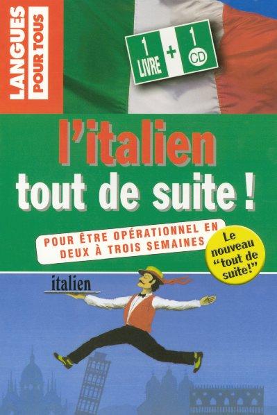 PP8568 COFFRET ITALIEN TOUT DE SUITE  1 LIVRE + 1 CD