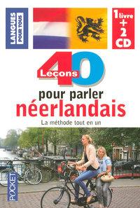 PP8006 COFFRET NEERLANDAIS 40 LECONS POUR PARLER  LIVRE + 2 CD