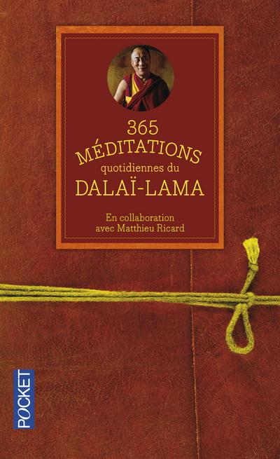 365 MEDITATIONS QUOTIDIENNES DU DALAI-LAMA