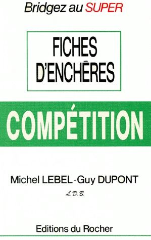 FICHES D'ENCHERES. COMPETITION