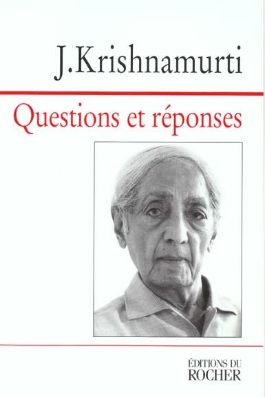 QUESTIONS ET REPONSES