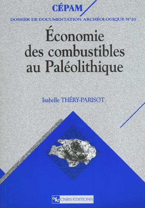 ECONOMIE DES COMBUSTIBLES AU PALEOLITHIQUE