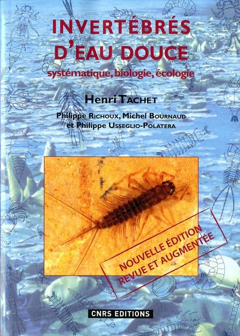LES INVERTEBRES D'EAU DOUCE (NE)