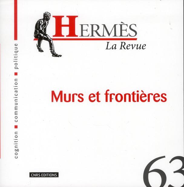 HERMES 63 - MURS ET FRONTIERES